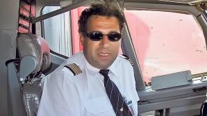 ADRIAN IOVAN A MURIT. Trupul pilotului, scos din avion şi dus la un centru din Câmpeni