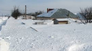 Vrancea: ZĂPADĂ DE CINCI METRI în sudul județului