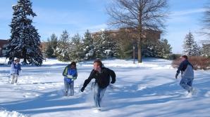 Zăpadă este otrăvitoare. Conţine substanţe periculoase
