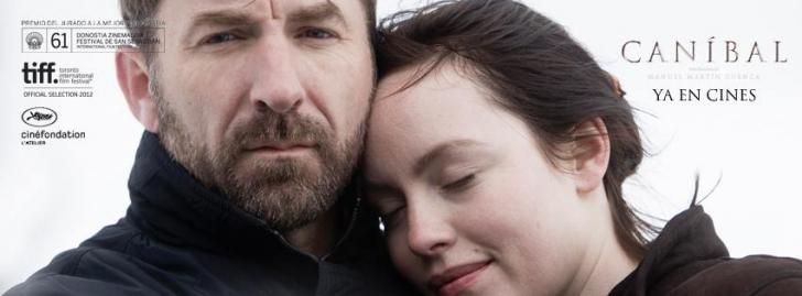 Afişul filmului Canibal. Actriţa Olimpia Melinte a fost nominalizată la Premiile Goya pentru rolul său