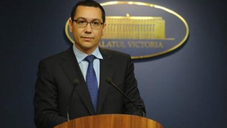 ACCIDENT AVIATIC: Ponta înfiinţează un comitet interministerial pentru urgenţe, la Guvern