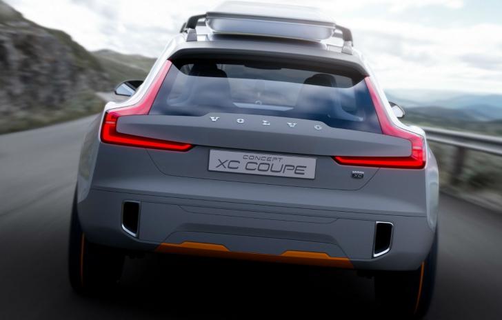 Cum arată Volvo Concept XC Coupe, concept care prefigurează design-ul viitorului XC90