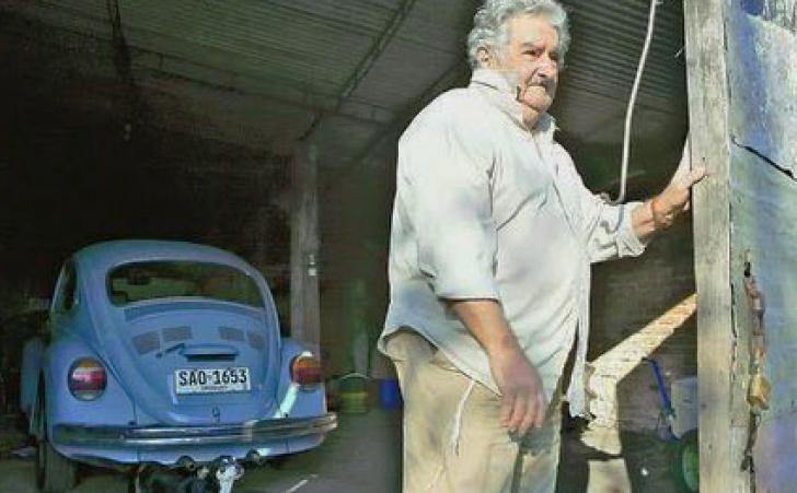 Preşedintele Uruguay-ului, retras la ferma soţiei sale