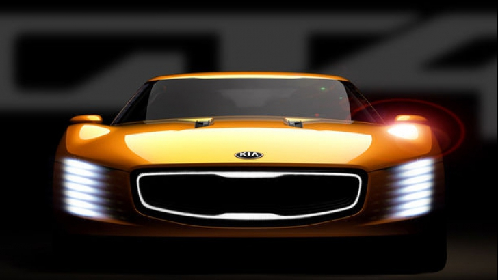 Kia oferă informații despre GT4 Stinger Concept, primul model sport al mărcii
