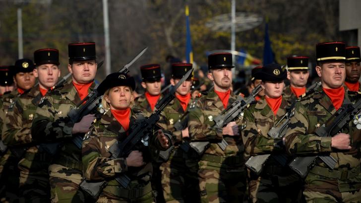 MILITARI ROMÂNI. Soldaţii români ar putea fi trimişi în Republica Centrafricană. FOTO: Mediafax FOTO