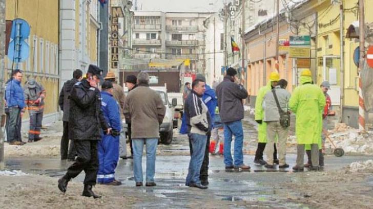 FOTO ARHIVĂ: scurgeri de gaze