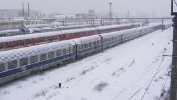 CFR Călători: Traficul este deschis pe toate magistralele de cale ferată