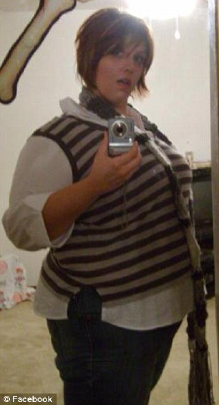 Tânăra a slăbit 78 de kilograme