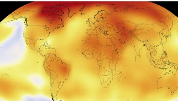 Cum arată încălzirea globală din ultimul secol