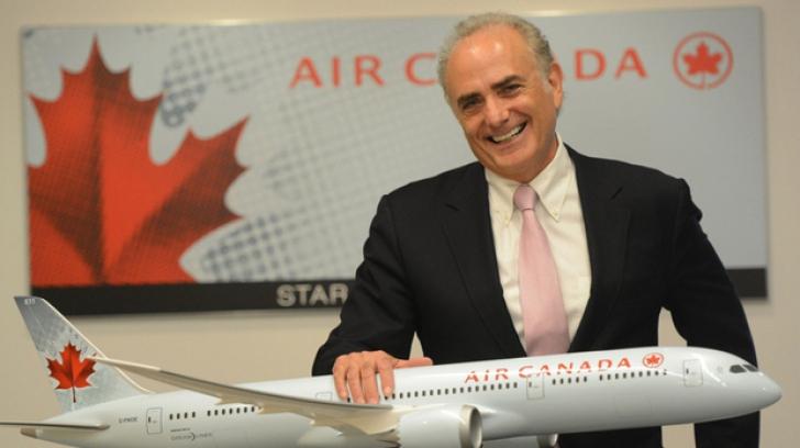 Călin Rovinescu, director executiv al Air Canada şi preşedintele Star Alliance