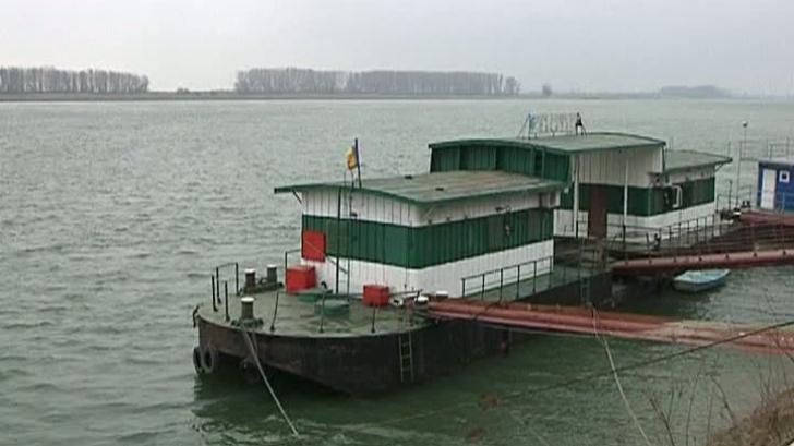 Dunărea a scăzut alarmant