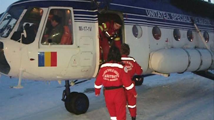Trei elicoptere ale MAI au decolat spre judeţele Brăila, Buzău şi Galaţi
