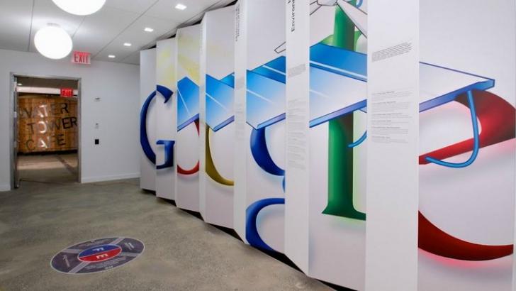 Google face angajări. Vezi cum arată biroul Google din București