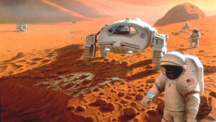 Apa lichidă de pe Marte, un fenomen străvechi şi doar episodic