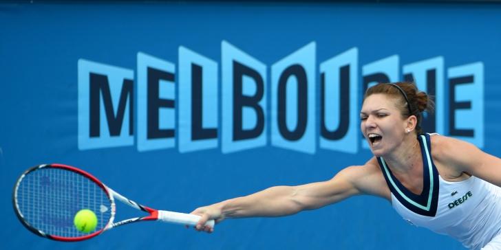 Simona Halep s-a calificat în optimi la Australian Open