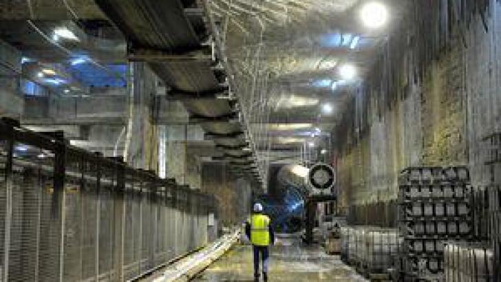 Tunelul săpat de Sf. Filofteia
