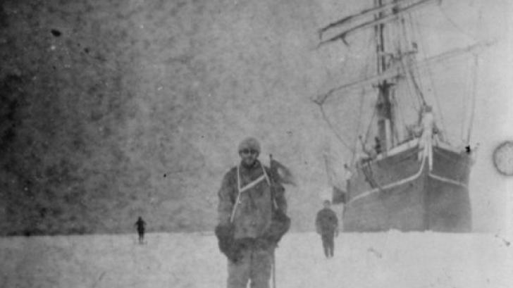 Fotografii vechi de un secol, descoperite în Antarctica