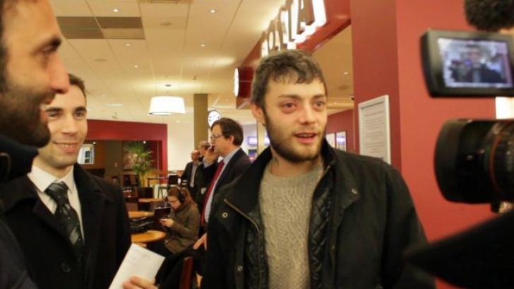 Victor Spirescu, singurul român care a 'invadat' Marea Britanie: 'Acum îmi este bine' / Foto: Facebook