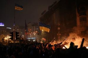 UCRAINA. Lupte sângeroase au avut loc la Kiev