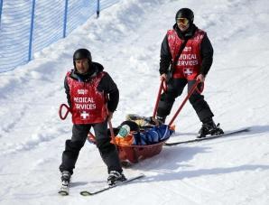 SOCI 2014. Jacqueline Hernandez, accidentare gravă la snowboardcross