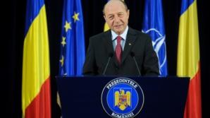 Băsescu: România pune accent pe educaţia tinerilor, dar are dificultăţi în integrarea romilor nomazi