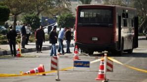 EXPLOZIE într-un AUTOCAR turistic, în Egipt, provocată de o bombă