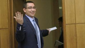 Ponta: Guvernul emite ordonanţă de urgenţă doar pe probleme de bucătărie internă în justiţie