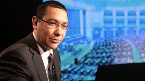 Ponta: Pentru un nou Guvern mă bazez în Parlament pe voturile parlamentarilor USL / Foto: MEDIAFAX