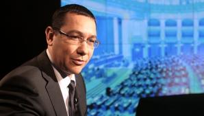 Ponta: Nu am respins ideea de a candida ca USL la PE, însă au fost probleme de negociere