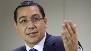 Ponta: Am mandat să iniţiez discuţii pentru formarea majorităţii care să sprijine Guvernul USD / Foto: MEDIAFAX