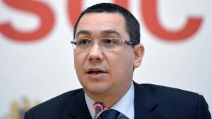 Ponta: Ordonanţa privind reducerea posturilor în administraţie rămâne în vigoare