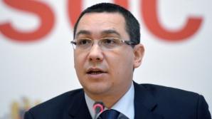 VICTOR PONTA: Vreau să continuăm în USL, Iohannis poate fi la Interne, sau vicepremier şi la Finanţe