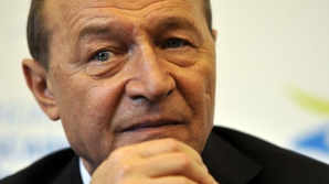 Preşedintele Traian Băsescu face un apel la preşedintele Ucrainei, Viktor Ianukovici, să nu ordone reprimarea protestatarilor din Ucraina/ Foto: MEDIAFAX