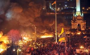 UCRAINA: EXPLOZII şi VIOLENŢE la KIEV- 14 oameni au fost ucişi LIVE VIDEO