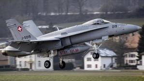 Avioanele Forţelor Aeriene Elveţiene au rămas la sol deoarece erau în afara orelor de program