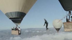 Acrobaţii la peste 3000 de metri înălţime