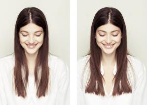 <p>Cum ar arăta oamenii dacă ambele părţi ale feţei ar fi identice</p>