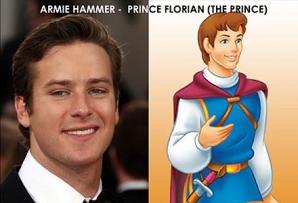 Actorii faimoşi care seamănă cu Prinţii din filmele Disney