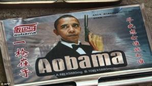 Barack Obama, imaginea pastilelor Viagra de contrabandă