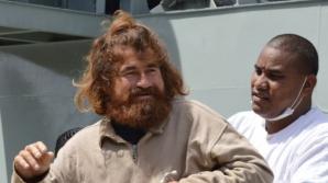Bărbatul care susţine că a plutit în derivă pe un atol din Pacific. Foto: Daily Mail