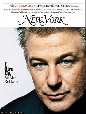 "Alec Baldwin: ""Renunţ"""
