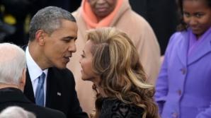 BEYONCE a negat presupusa idilă cu Barack Obama