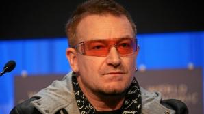 Bono, solistul trupei U2