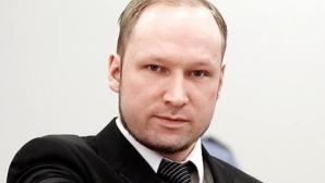 Anders Breivik ameninţă cu greva foamei în închisoare