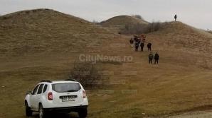 Câine cu picior de om în gură la Cluj