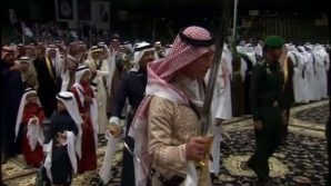 Prinţul Charles, dans cu săbii în Arabia Saudită