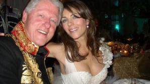 Președintele Bill Clinton ar fi avut o relație amoroasă cu actrița Elizabeth Hurley