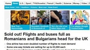 """Daily Mail, vinovat de publicarea unor povești """"complet neadevărate"""" despre imigranții români și bulgari (oficial)"""