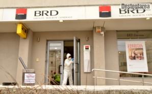 Jaf armat la o bancă din Bacău