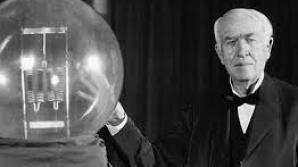"""Thomas Edison a fost considerat de profesori """"prea prost pentru a invata ceva""""."""